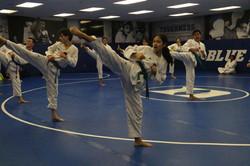 Duke TKD 1st Belt Test 3