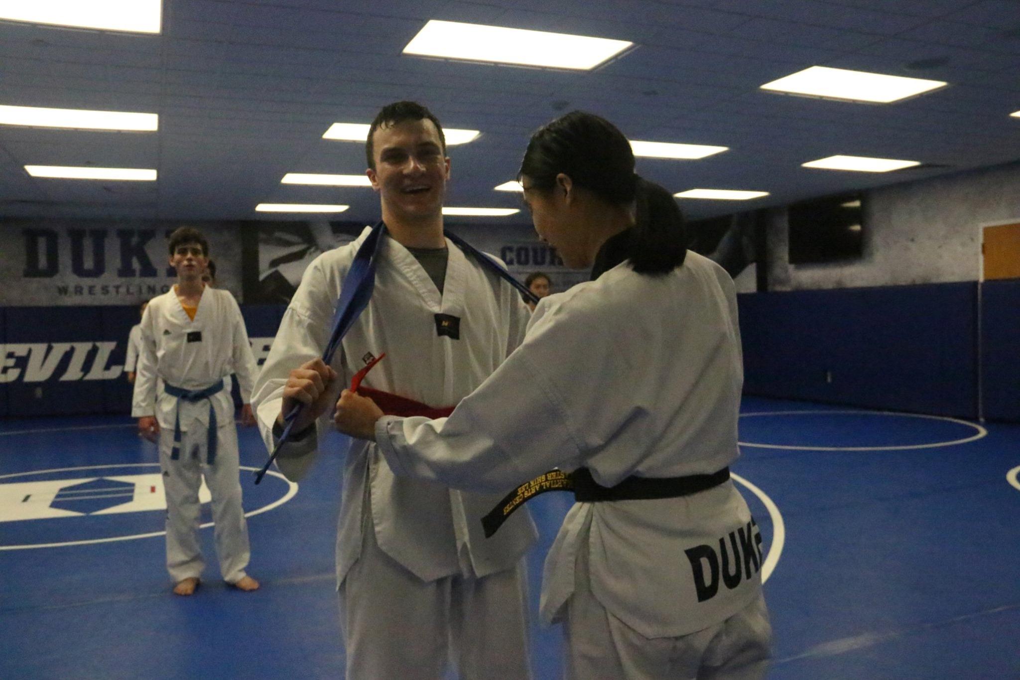 Duke TKD 1st Belt Test 9