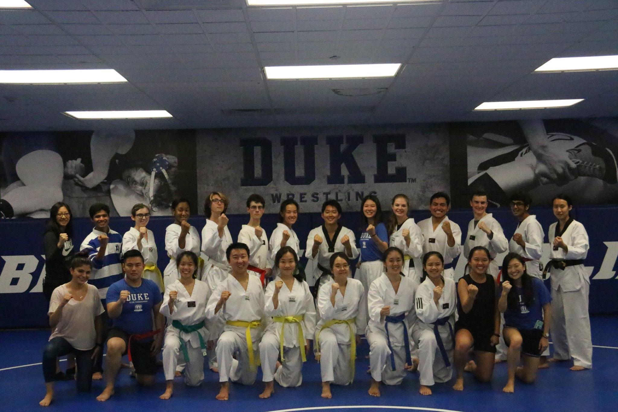Duke TKD 1st Belt Test 10