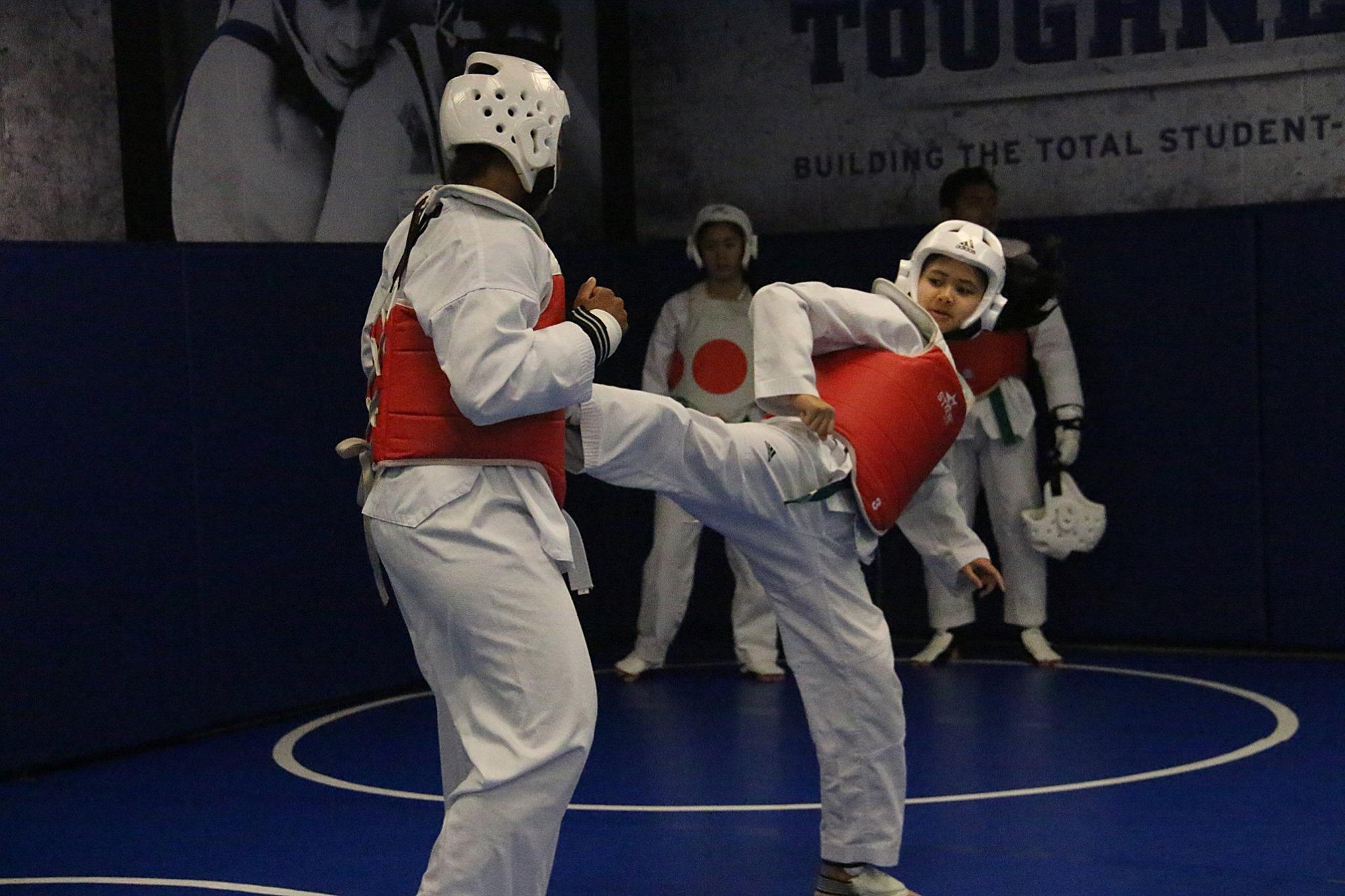 *Duke TKD 1st Belt Test 6