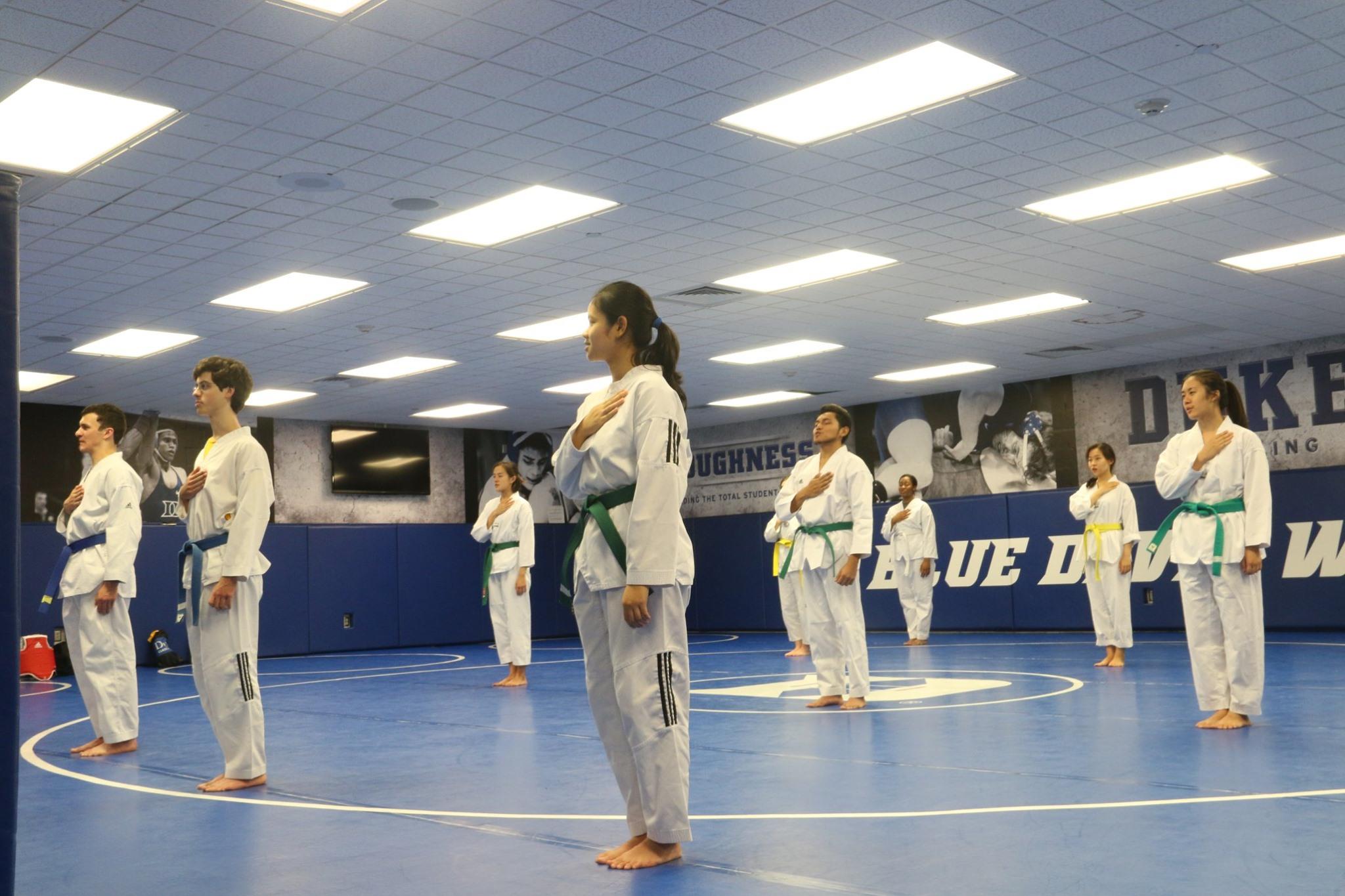 Duke TKD 1st Belt Test 2