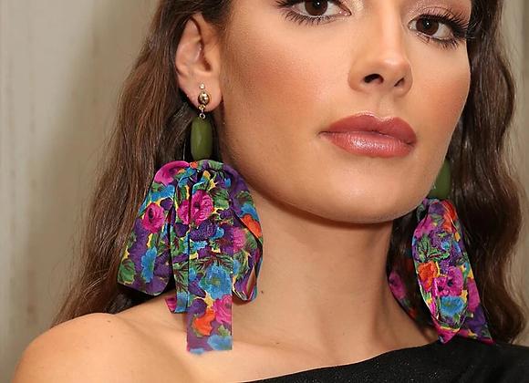 chiffon earring