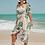 Thumbnail: Palm off shoulder dress