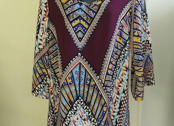 Aztec dress w/belt