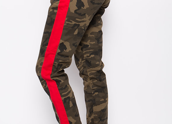 Red Stripe Camo Pant
