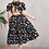 Thumbnail: polka dot flair dress