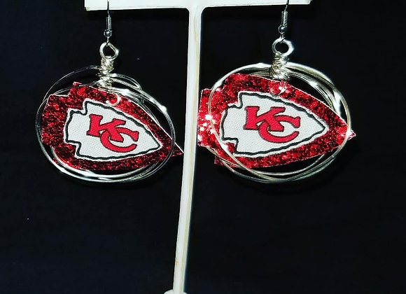 Custom Chief earrings