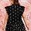 Thumbnail: Black Sheer Daisy Blouse