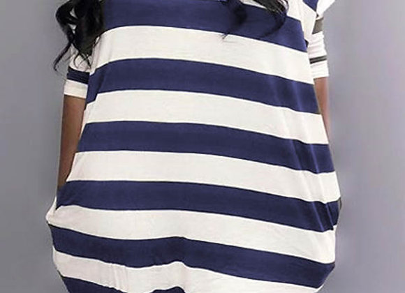 dress/shirt blue stripe