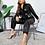 Thumbnail: faux leather jumper