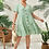 Thumbnail: Sage Button Down Babydoll Dress