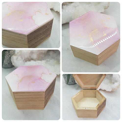 Hexagonal Trinket Box
