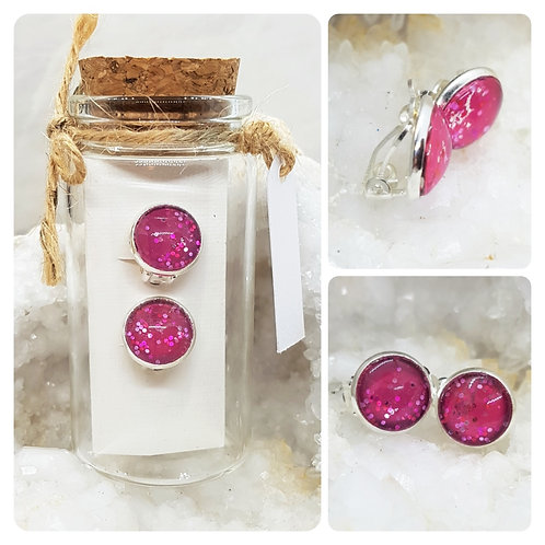 Children's Silver Plated Clip-on Earrings