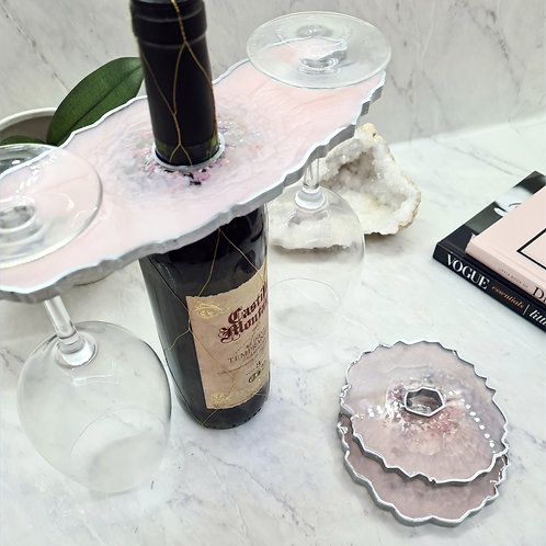 Glass Holder and Coasters