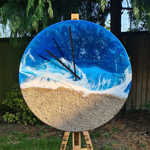 Waves Collection Clock