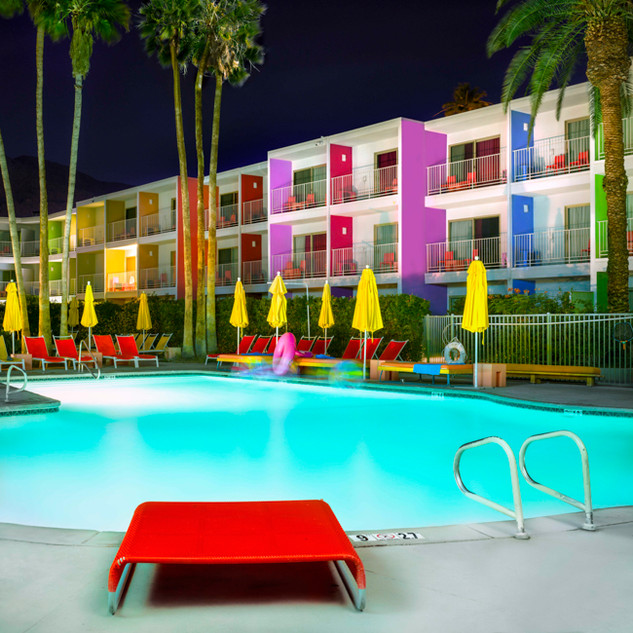 Color Swim, Palm Springs, CA