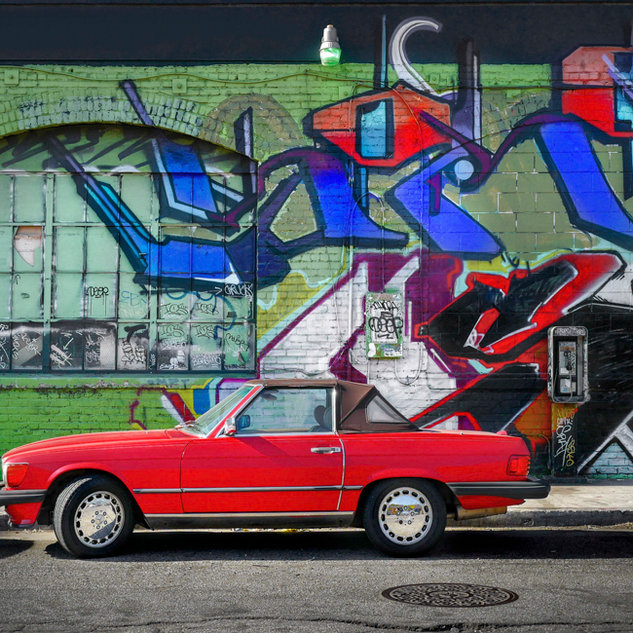 The Red Car, Los Angeles