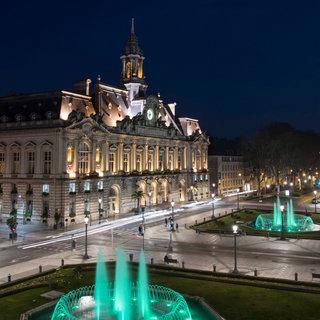 Place Jean Jaurès, Tours