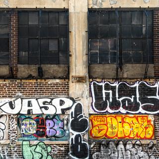 Black windows, NY
