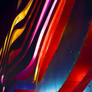 Color lines, Los Angeles