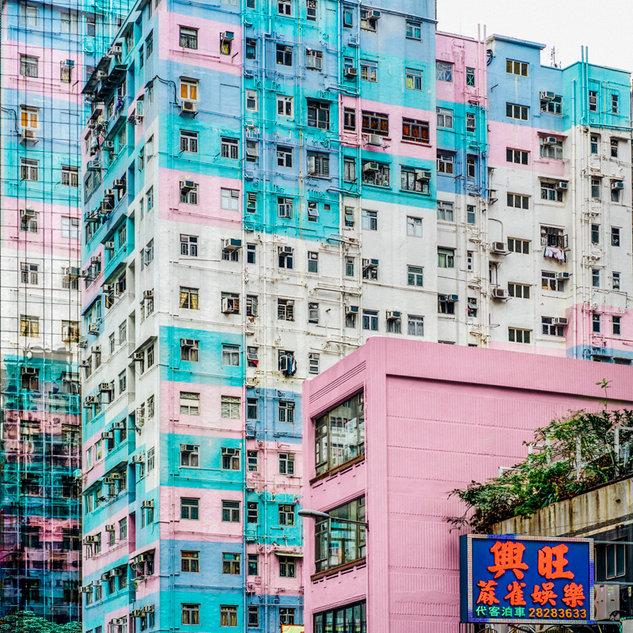 Pastel flat, HK