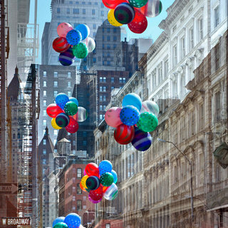 Balloons, New York