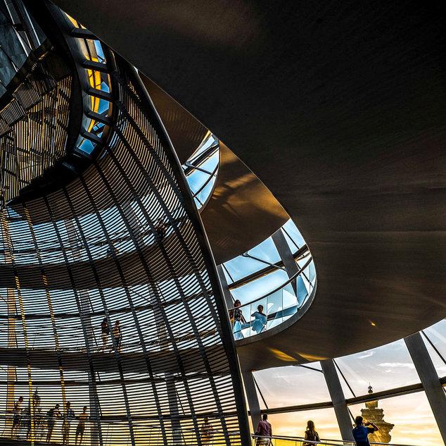 Reichstag courbes #2, Berlin