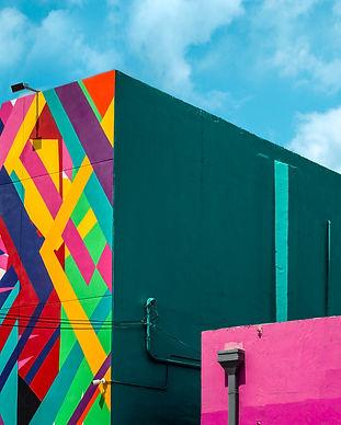 Color cubes, Miami