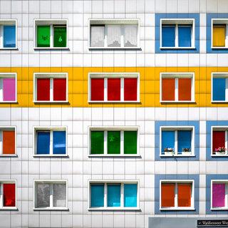 Color windows, Berlin