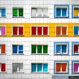 Color windows, Berlin