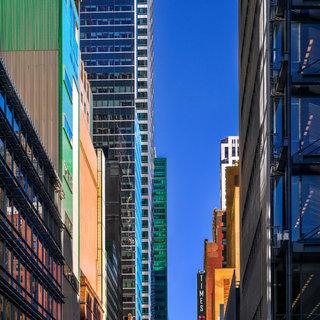 Blue Street, New York