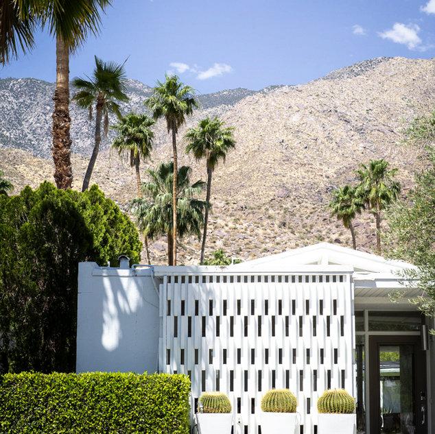 White desert, Palm Springs, CA