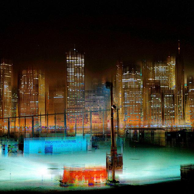 City Lights 1, New York