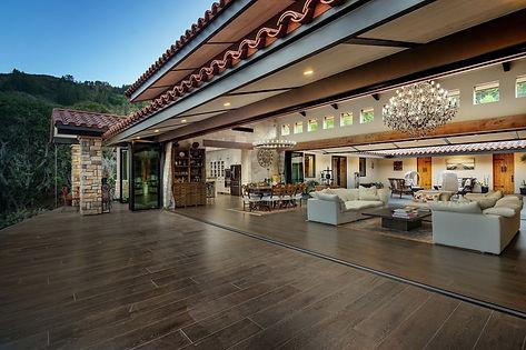 Contemporary Hacienda with Stunning Views