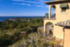 With truly some of the most astounding views in Pebble Beach, this gracious residence is ideally located in the prized sunbelt and minutes to The Lodge and Beach Club. Remarkable architectural design, extraordinary choice of materials and quality finishes define this 6 bedroom home with a two-story living/dining room with expansive terrace, chef's kitchen with dining area adjoining the family room and glassed-in loggia ocean view porch.Additional features include a master bedroom suite with a separate sitting room with fireplace, library, home theatre, game room, wine cellar, outdoor kitchen, elevator and four car garage. An unparalleled combination of stunning views, exceptional quality and prime location.