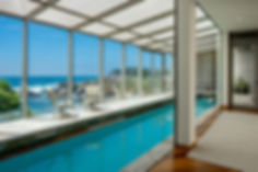 An exquisite oceanfront contemporary privately nestled in the gated community of Otter Cove. Enjoy the sounds of surf and panoramic sunsets from the main level that boasts an open living room, kitchen with an oceanfront patio perfect for indoor-outdoor entertaining, comfortable den and a guest suite. The spacious master overlooks the white sands of the secluded cove with a large bathroom, custom cabinets and walk-in closet. You and your guests can enjoy swimming laps in the indoor swimming pool overlooking the Pacific Ocean. With unparalleled serenity and luxury, this home makes for a perfect retreat, just a short drive from downtown Carmel.