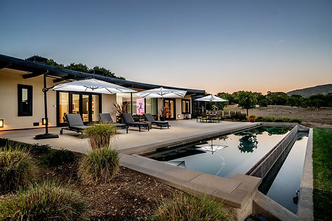 Modern Sanctuary in the Santa Lucia Preserve