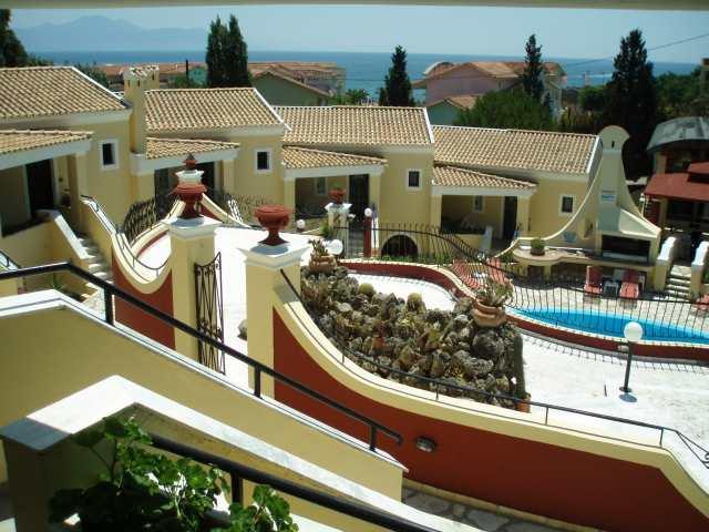 Hotel mediterranean blue kavos corfu