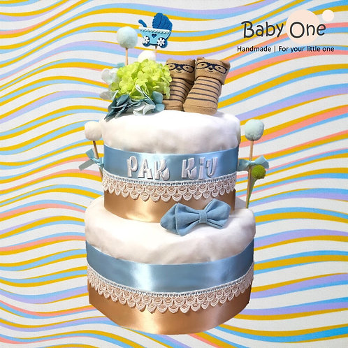 雙層尿片蛋糕 (DCF-2005)