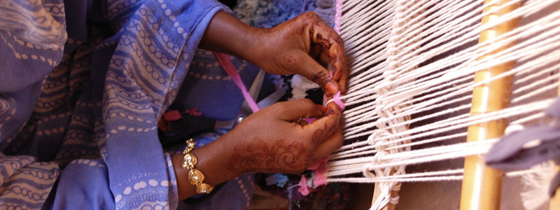 Weaving in M'hamid El Ghizlane