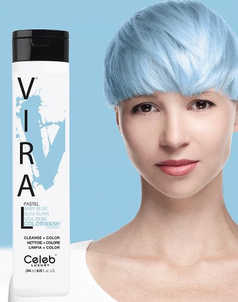 Viral Baby Blue Shampoo