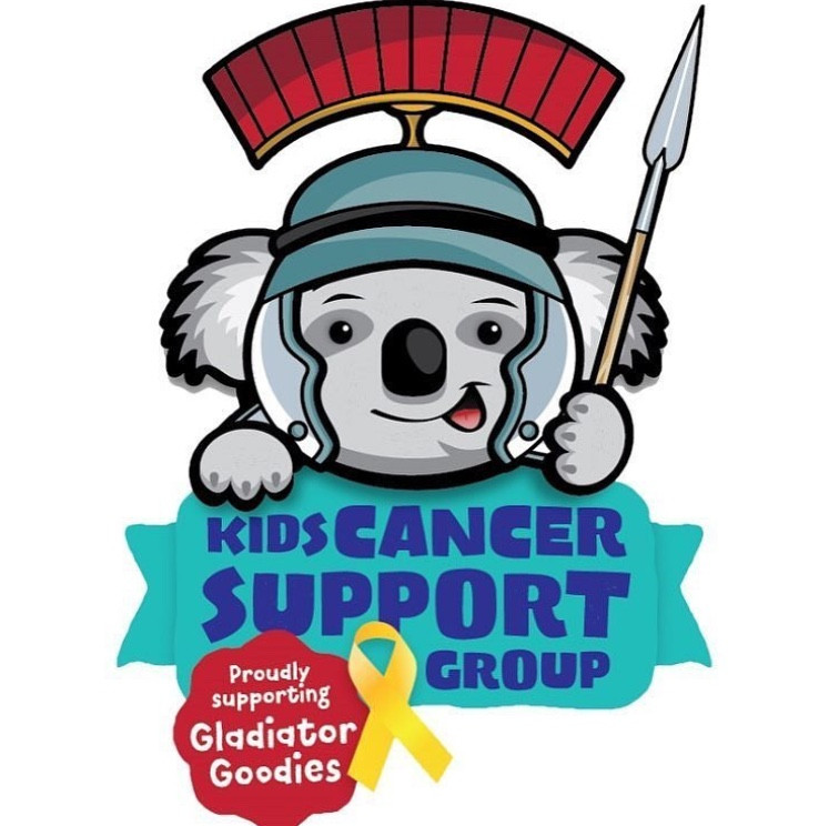 Gladiator Goodies, Kids Cancer Support Group