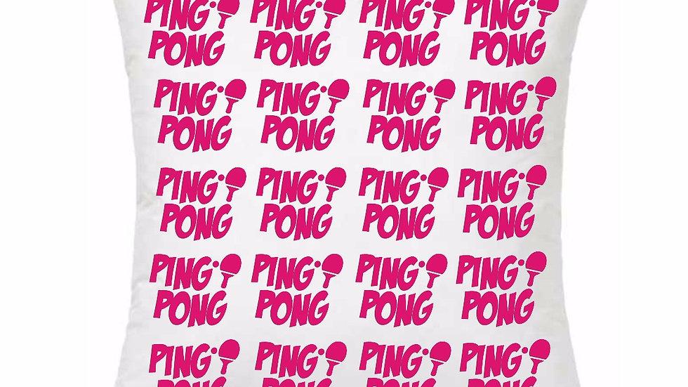 Almofada Pink ou Preta - Ping Pong