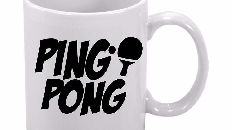 Caneca Ping Pong
