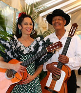 Lisa Spraragen, Josue Perez, flamenco guitar duo, Newport Music Festival