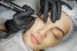 Permanent make up eyeliner procedure, ap