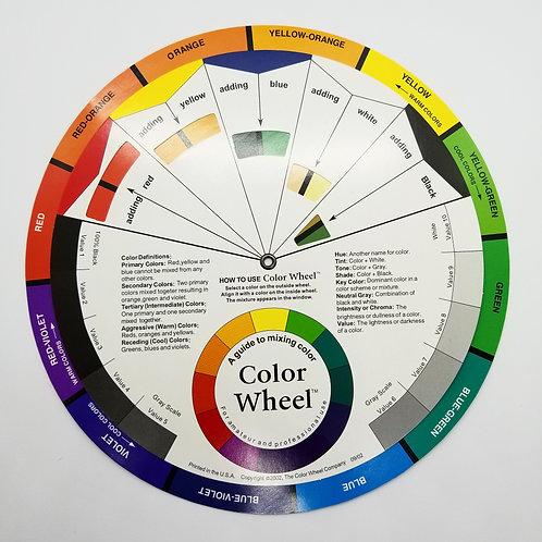 Mixing Colour Wheel