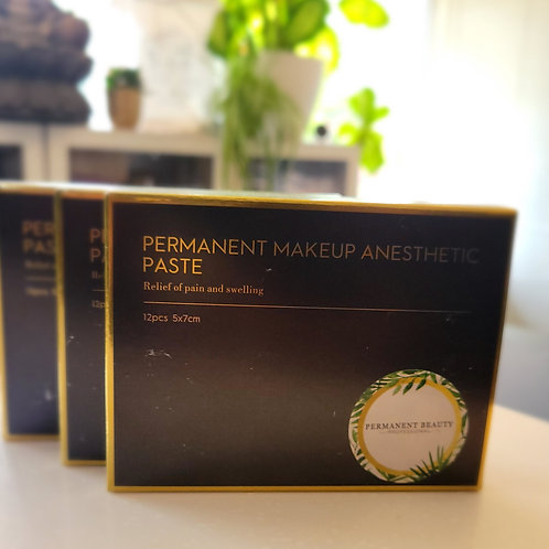 Anesthetic Pads (brows and lips)
