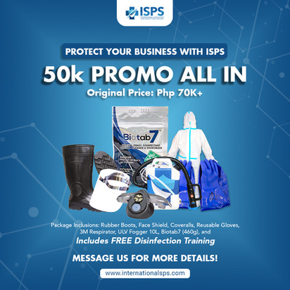 ISPS Package Promo Ad