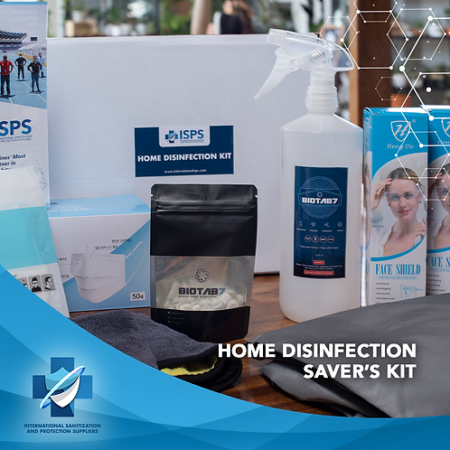 Home Disinfection Saver's Kit